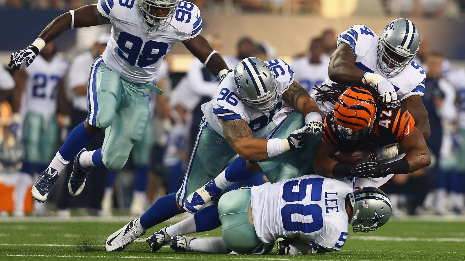 cowboys game live updates