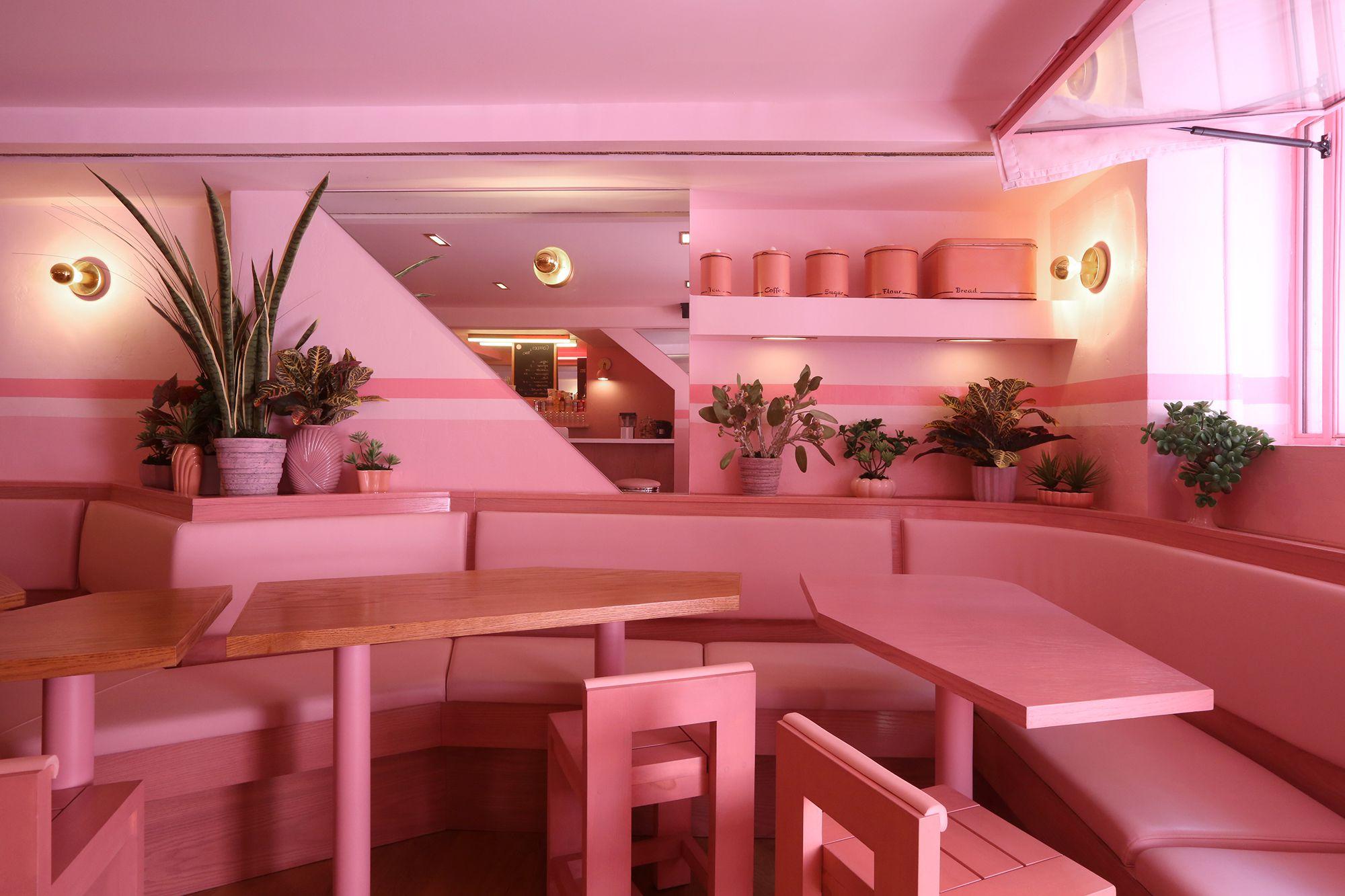 New York Pink Cafe
