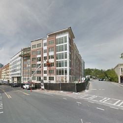 By October, the entire block had been replaced by the 375-unit Hanover East Paces.