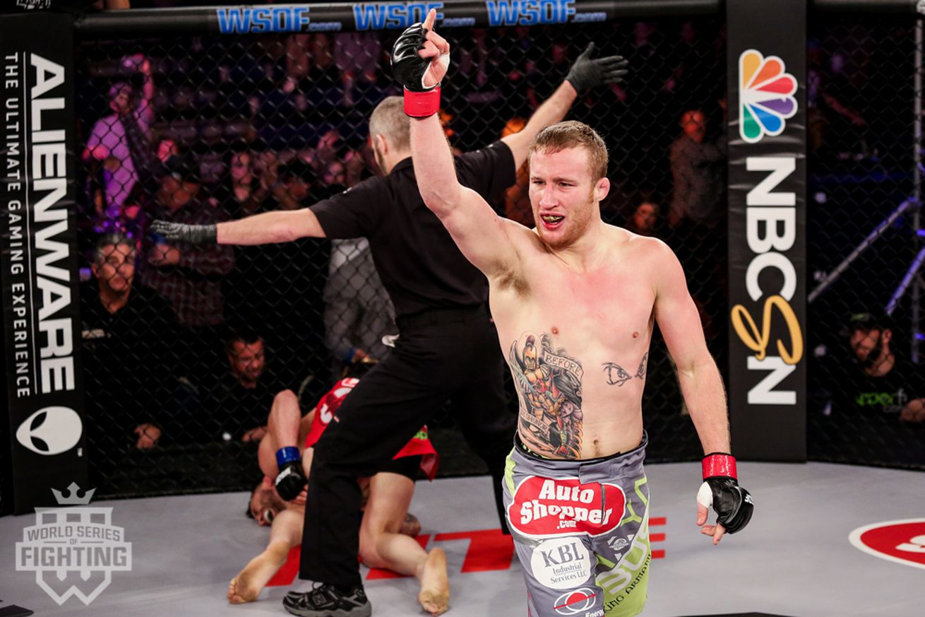 UFC signs undefeated lightweight Justin Gaethje
