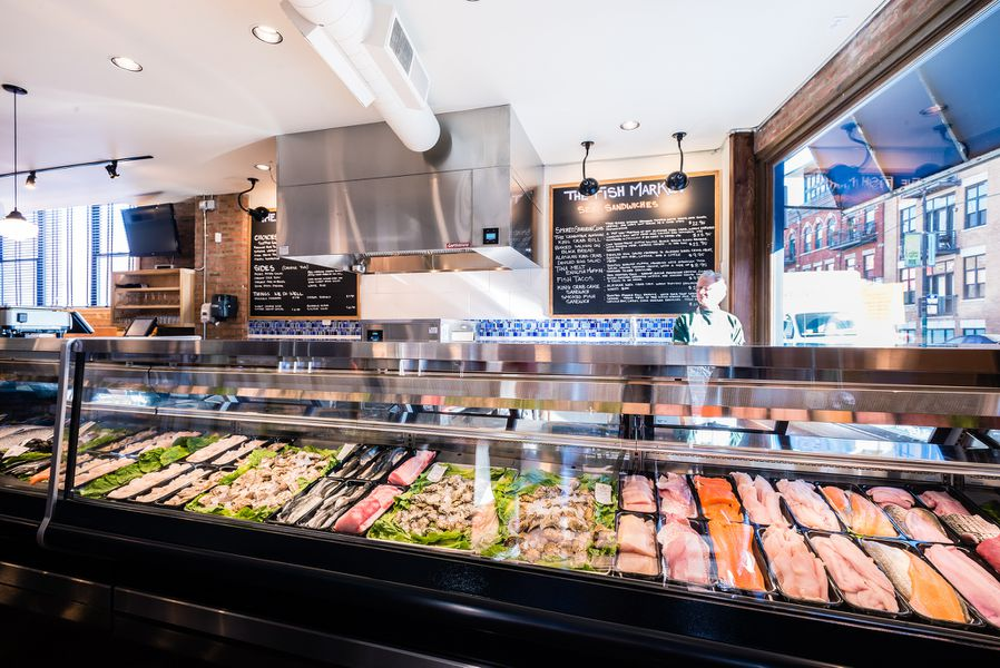 fahlstrom 39 s fresh fish market lands ashore in lakeview