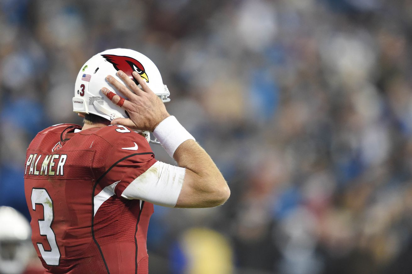 NFL Jerseys Sale - Carson Palmer on list of top playoff disappointments - Revenge of ...