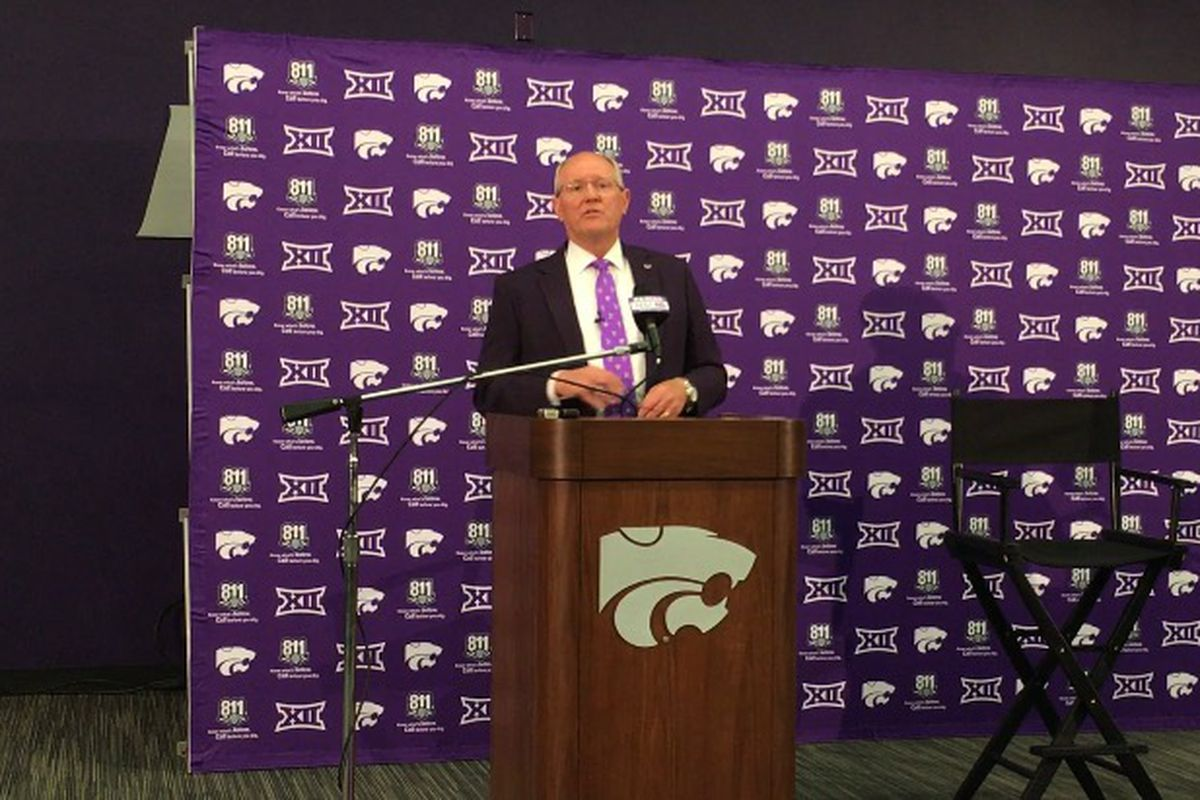 Taylor introduced as new K-State athletics director