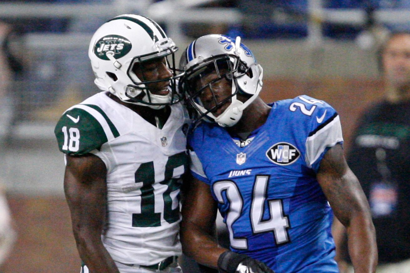 NFL Jerseys Official - 2016 Detroit Lions training camp battles: Who wins the No. 2 CB ...