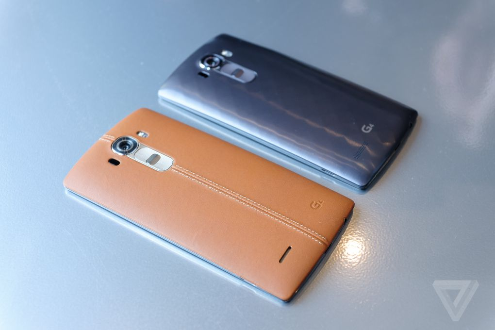 LG's new G4 is a powerhouse phone wrapped in leather