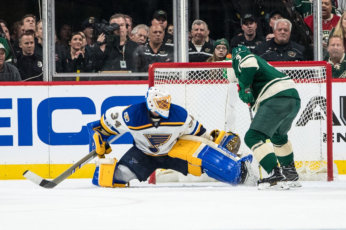 NHL: Blues top Wild 3-1, grab 3-0 series lead