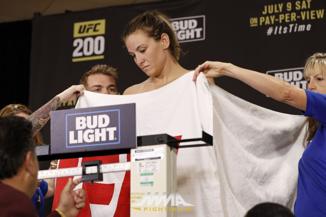 Miesha Tate nearly misses weigh in window, fight with Amanda Nunes still on