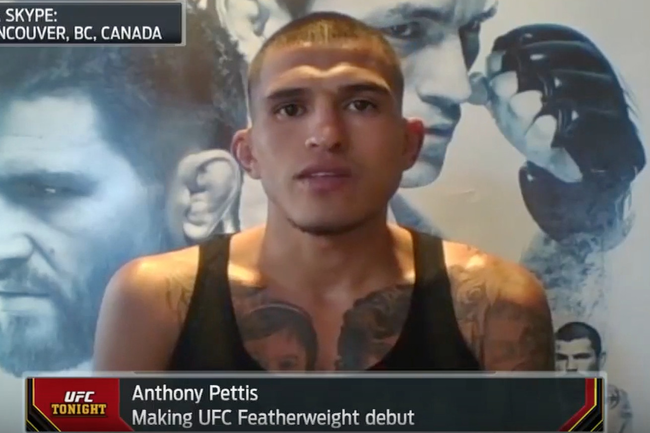 community news, Video: Anthony Pettis looks gaunt, grotesque following cut to 145 pounds