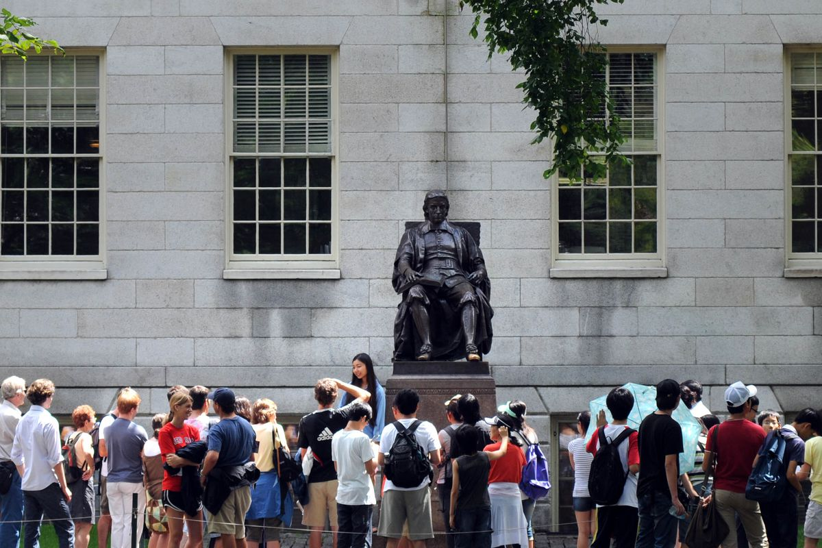 research is great donating money to super rich colleges like john harvard doesn t need more money darren mccollester getty images