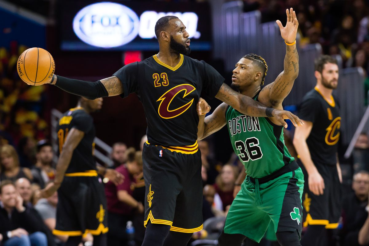 Starting series with the Celtics in Boston doesn't faze Cleveland Cavaliers