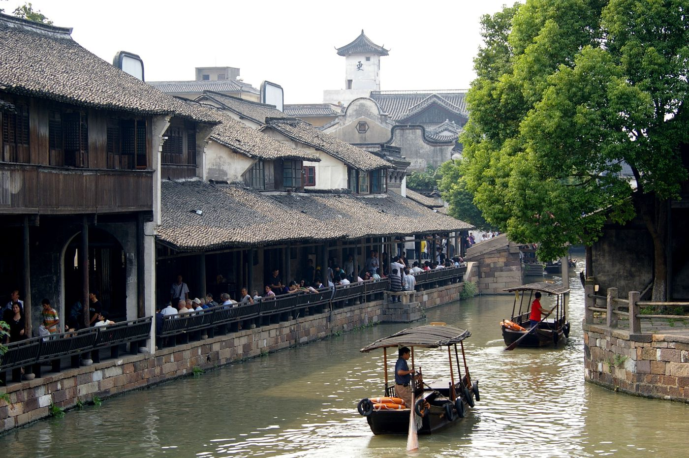 "The historic town of Wuzhen has been described as the ""Venice of the East."""