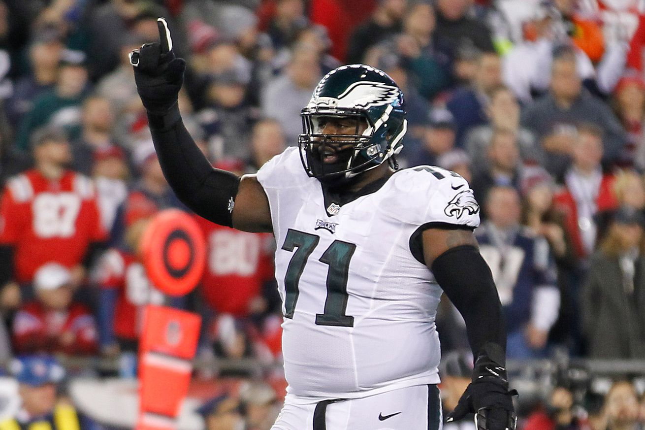 NFL Jerseys NFL - Eagles have the most athletic offensive line in the NFL, by far ...