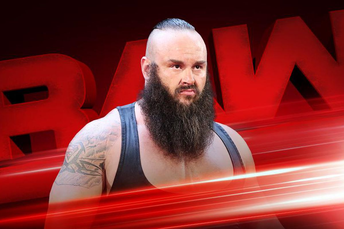 Braun Strowman suplexes the Big Show, breaks WWE ring