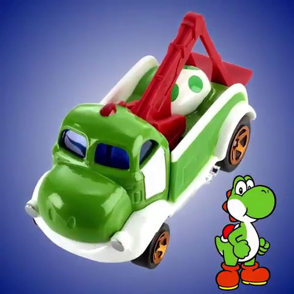 Marios Used Cars >> Your favorite Nintendo character is now a Hot Wheels car ...