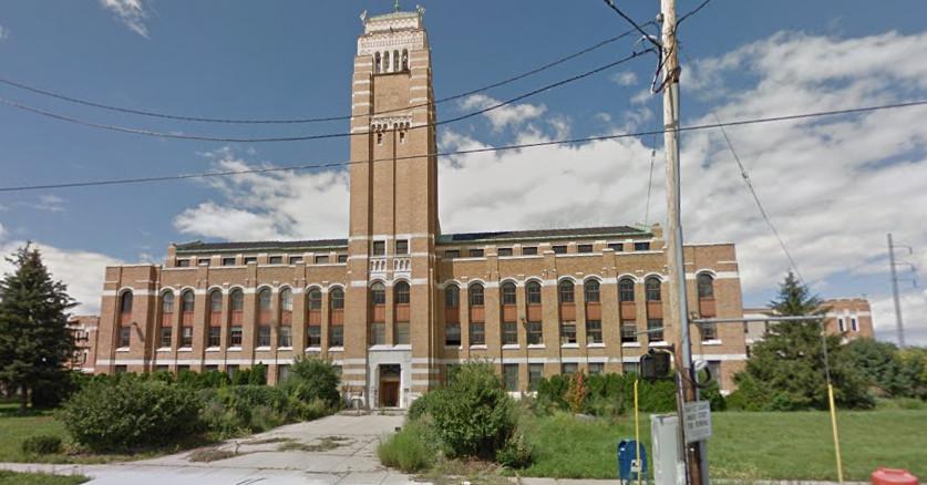 former amc hq in northwest detroit could be demolished curbed detroit