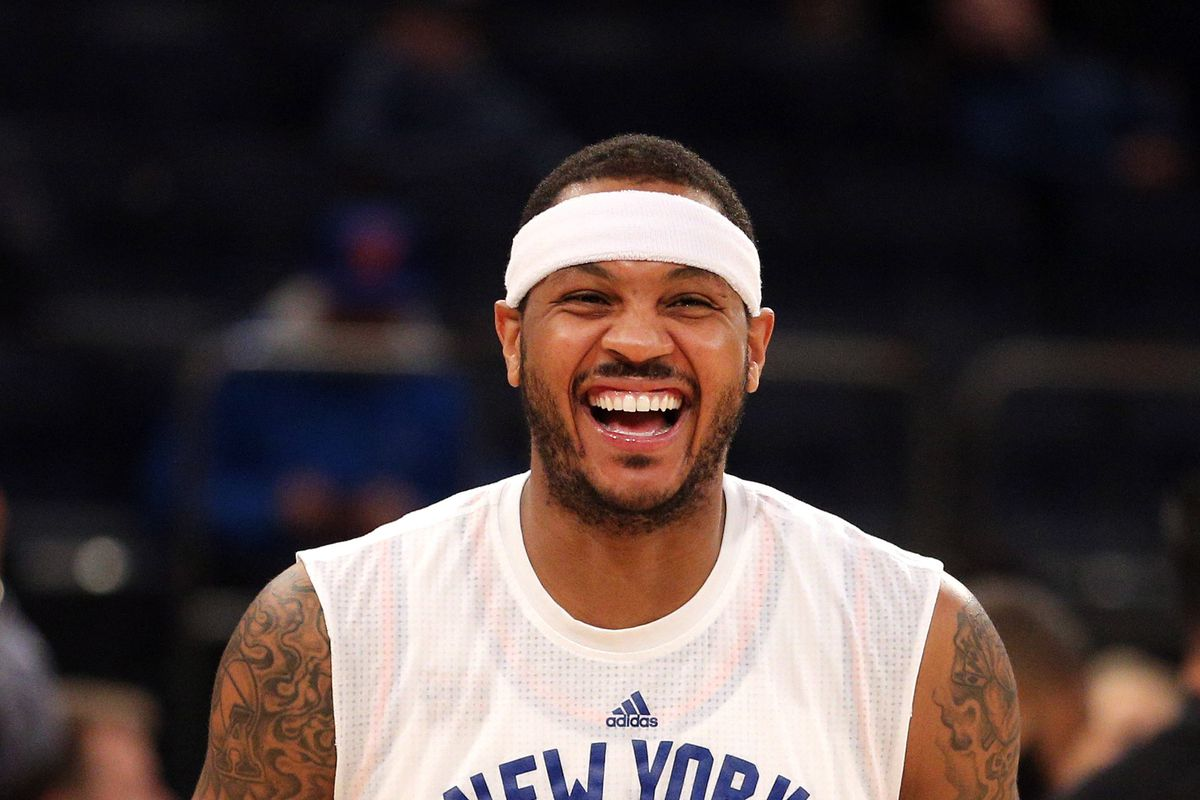 Carmelo Anthony Desperately Trying to Save His Marriage with La La