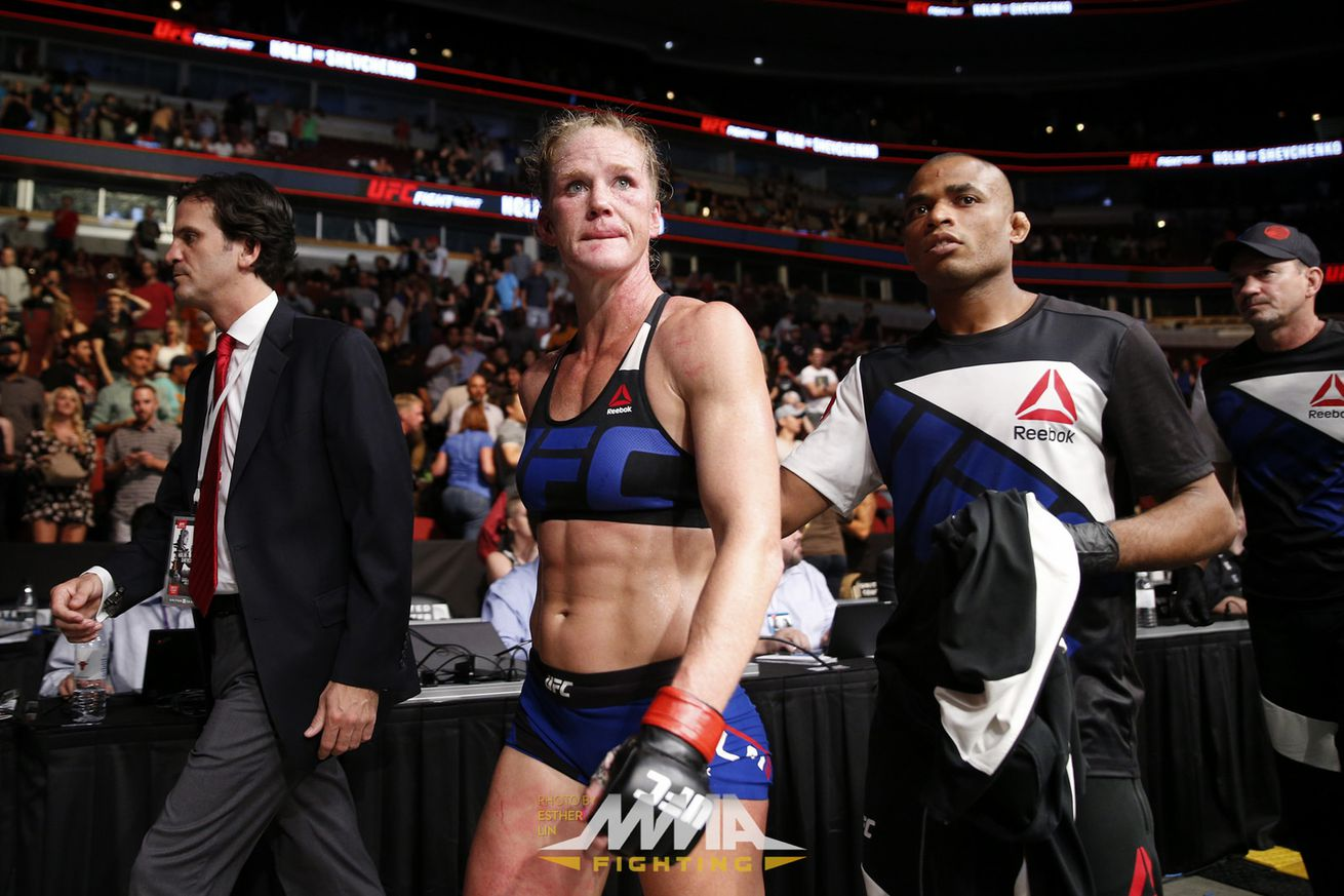 Latest UFC rankings update: Valentina Shevchenko rises, Holly Holm falls following UFC on FOX 20 in Chicago