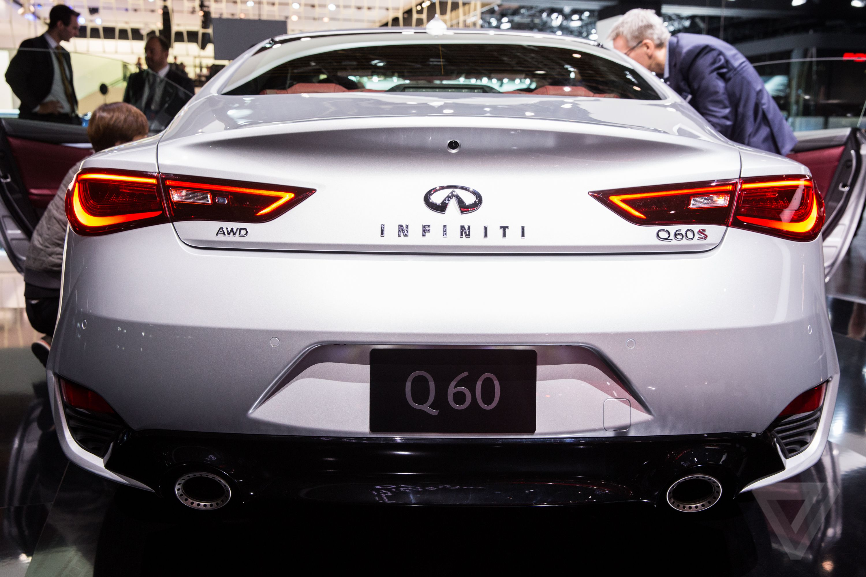 Qx80 style grew on me saw one last night so sexy new q60 tails are so fucking sexy