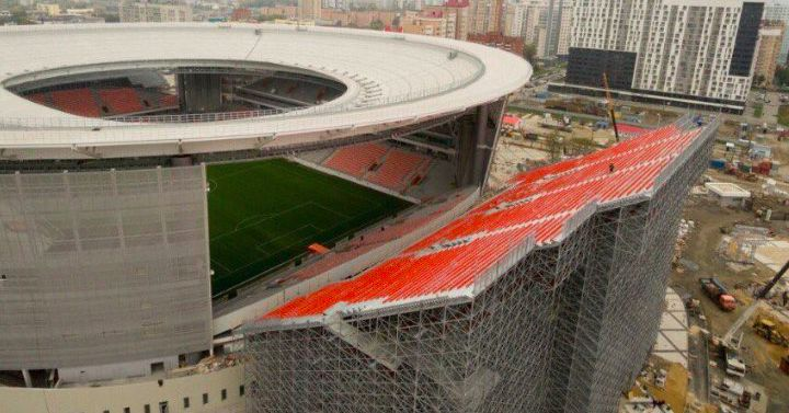 Image result for russian soccer stadium bleachers
