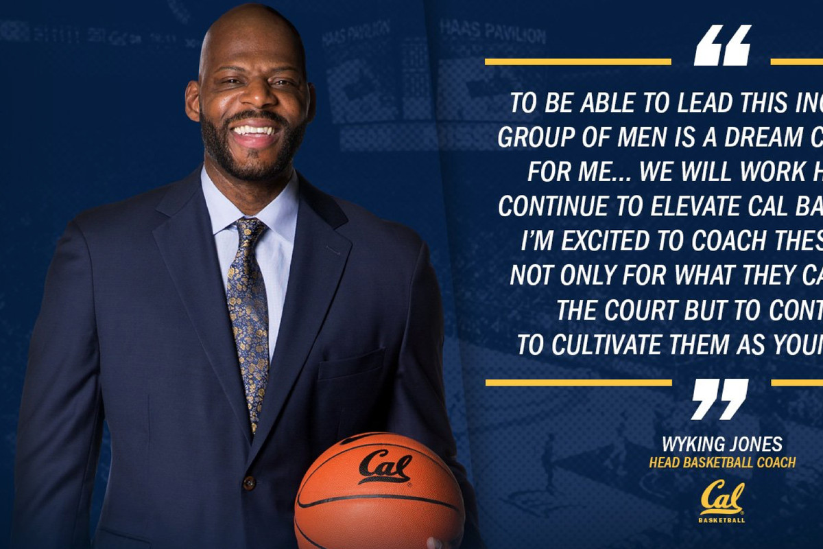 Cal promotes Wyking Jones to basketball coach