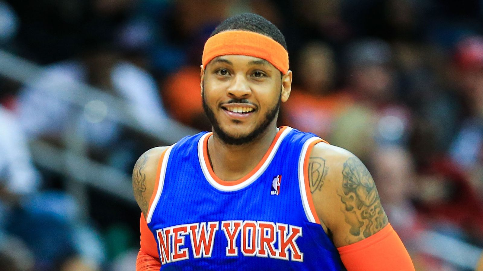 Do the Knicks think Carmelo Anthony is a dumb baby ...