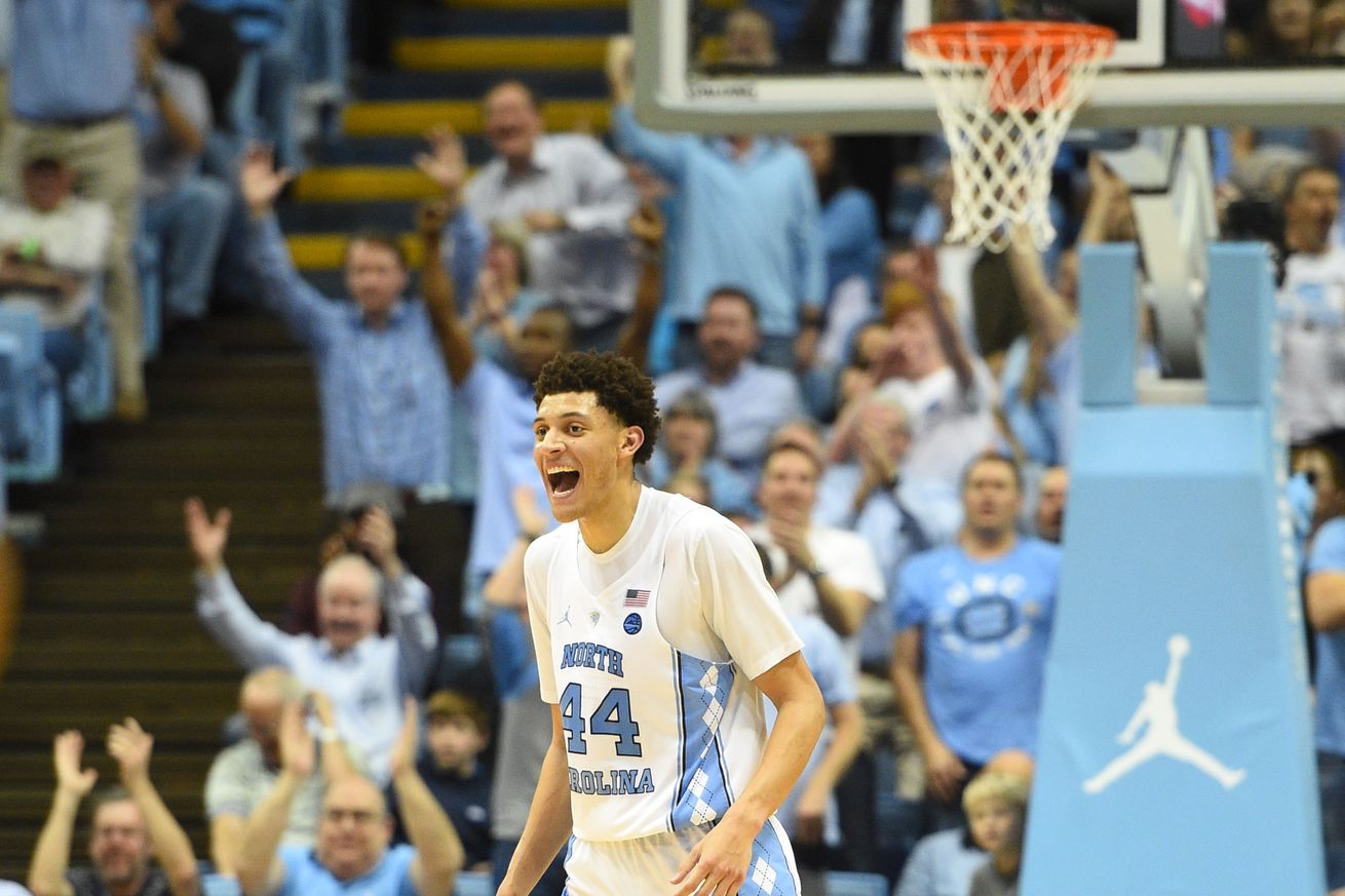 Berry's 28 points leads Tar Heels over Blue Devils in Chapel Hill