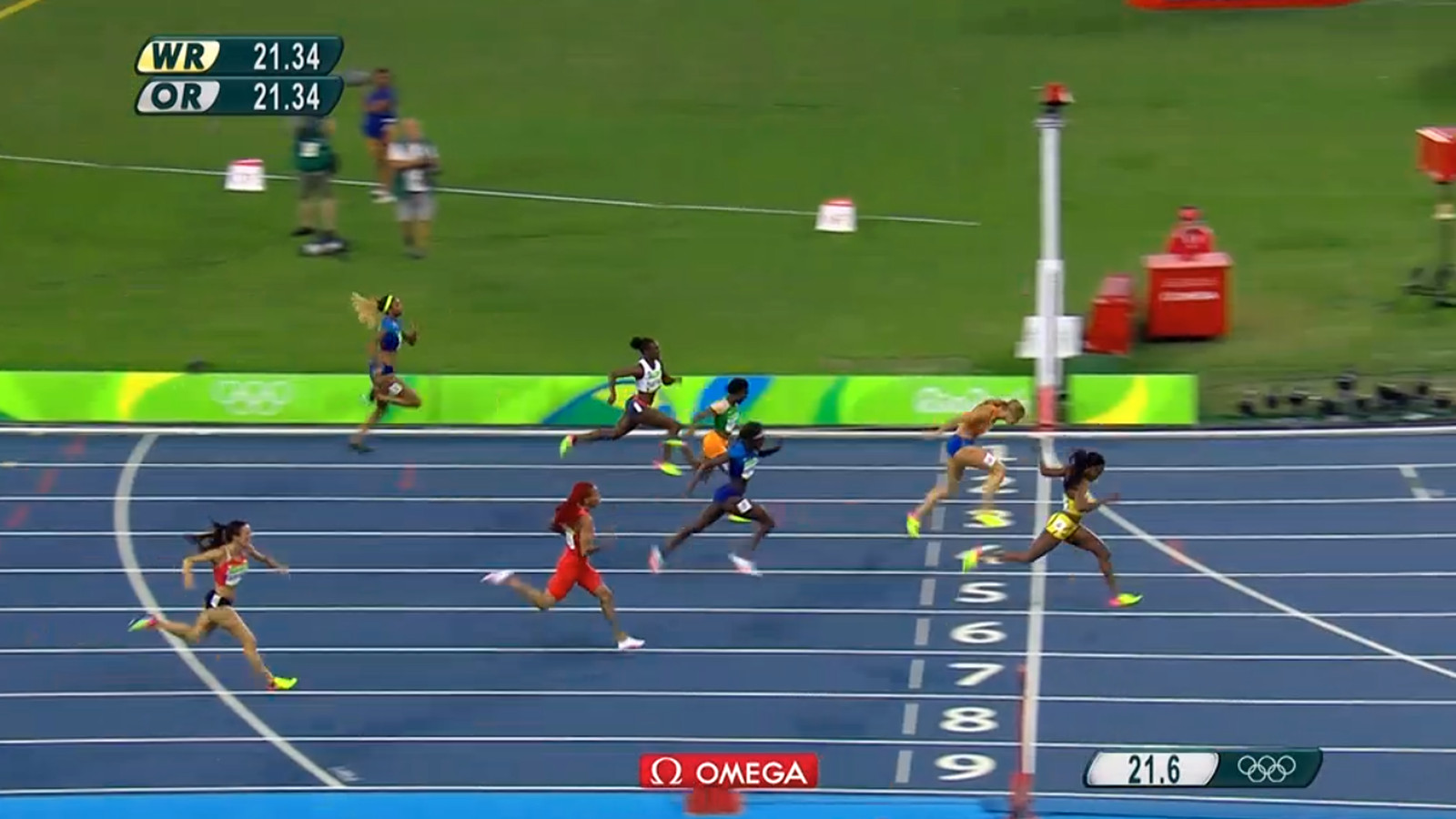 Rio 2016 Elaine Thompson Wins Gold Medal In Women S 200m