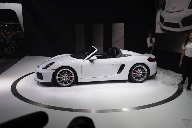 The Porsche Boxster Spyder is the simplest, lightest, and fastest Boxster you can buy