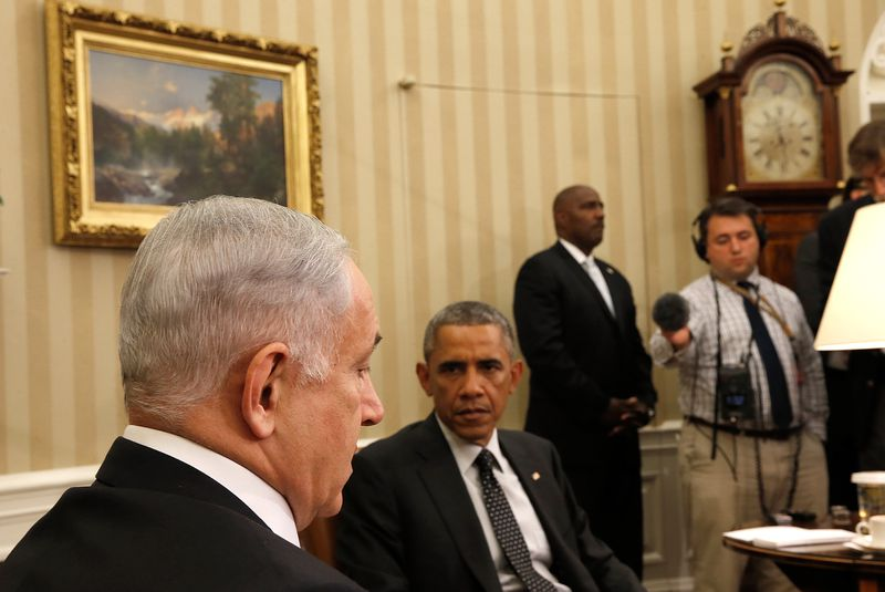 Obama And Biden Meet With Israeli PM Netanyahu At White House