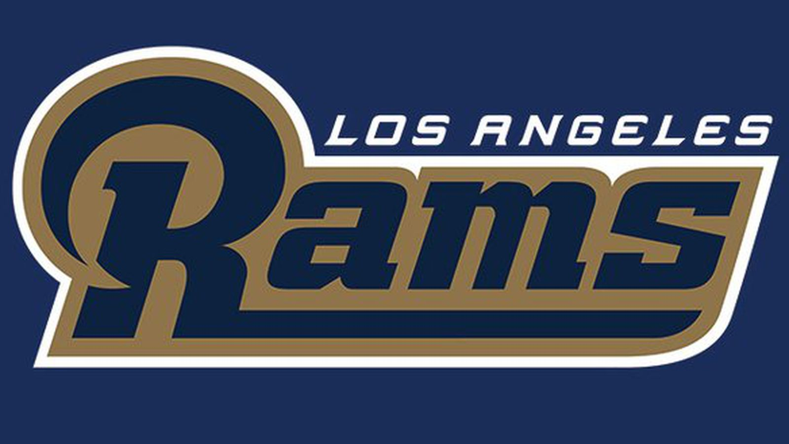 The new Los Angeles Rams logo is the old logo but now it ...