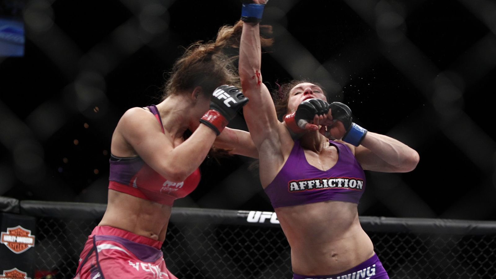 Miesha Tate Vs Cat Zingano Full Fight Video