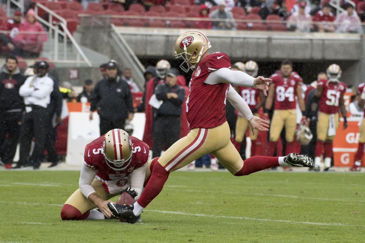Phil Dawson thanks 49ers and fans for 'great four years'