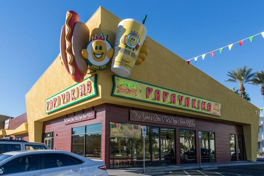 Papaya Hot Dogs Las Vegas
