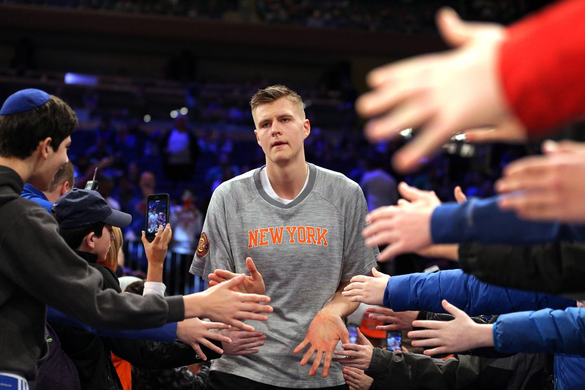 Knicks Received Mulitple Trade Calls On Kristaps Porzingis