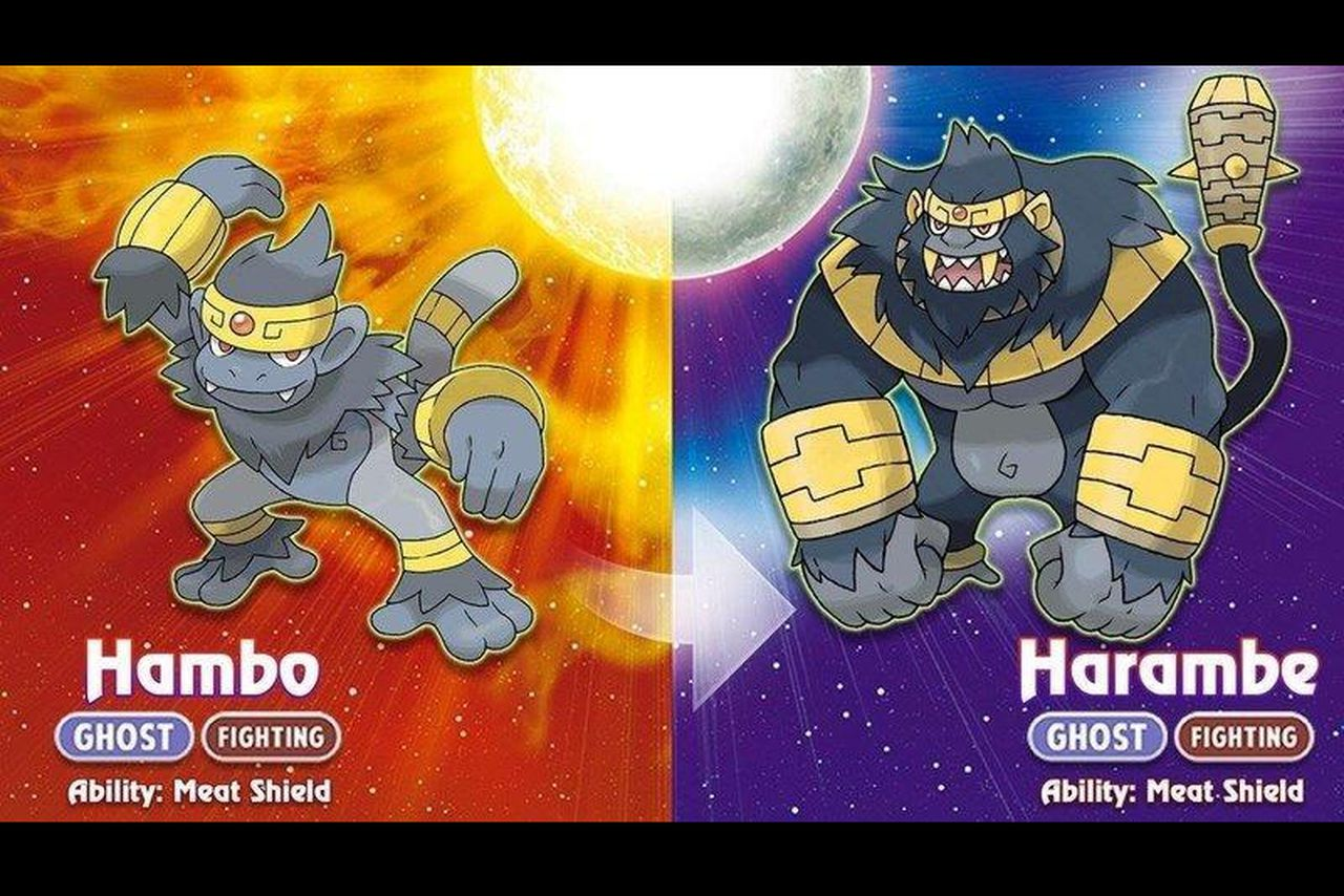 Image result for harambe pokemon
