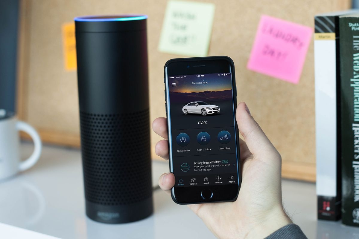 Amazon Echo and Google Home Support Now in your Mercedes-Benz