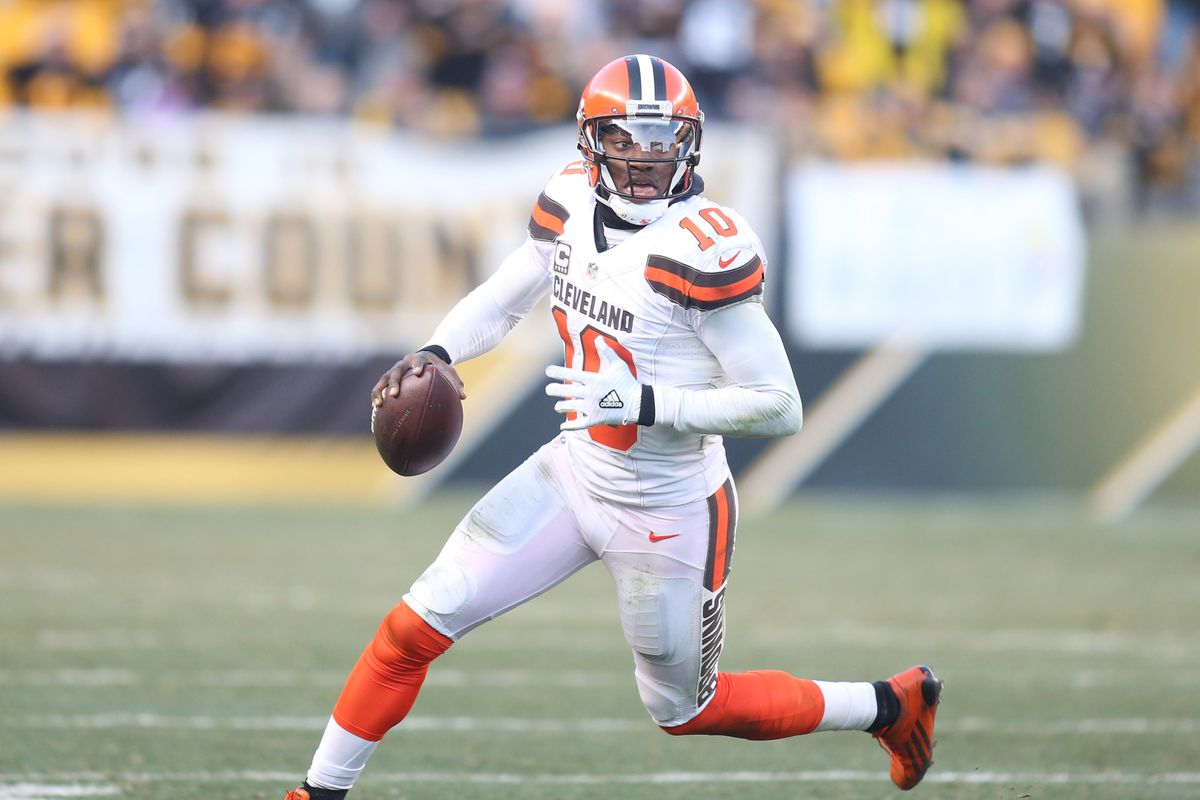 Browns release Robert Griffin III