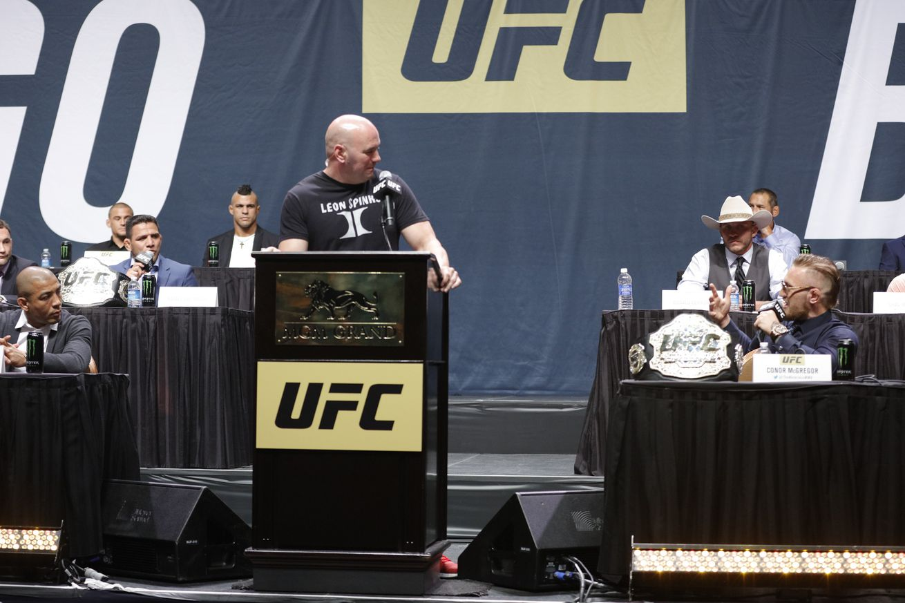 community news, Of Dana White, Conor McGregor, and all the strange 'what nows' — taking inventory of today's UFC
