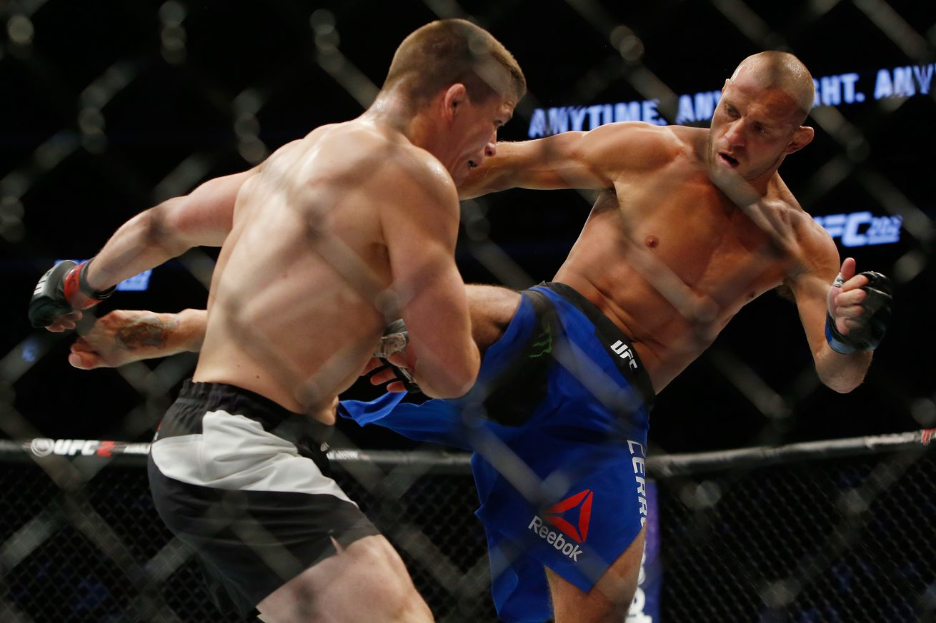 Knockout! Watch Donald Cerrone vs Rick Story full fight video highlights from UFC 202 last night