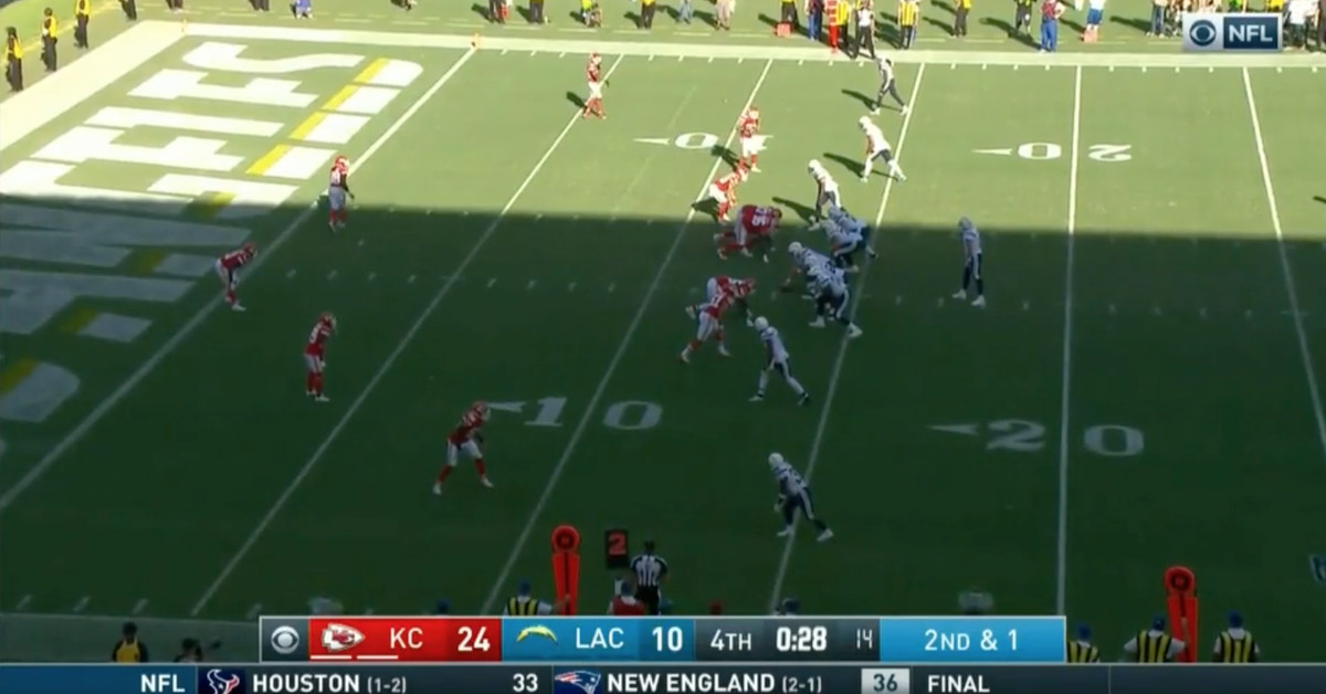 Chiefs Fans Take Over With Chant At End Of Chargers Game