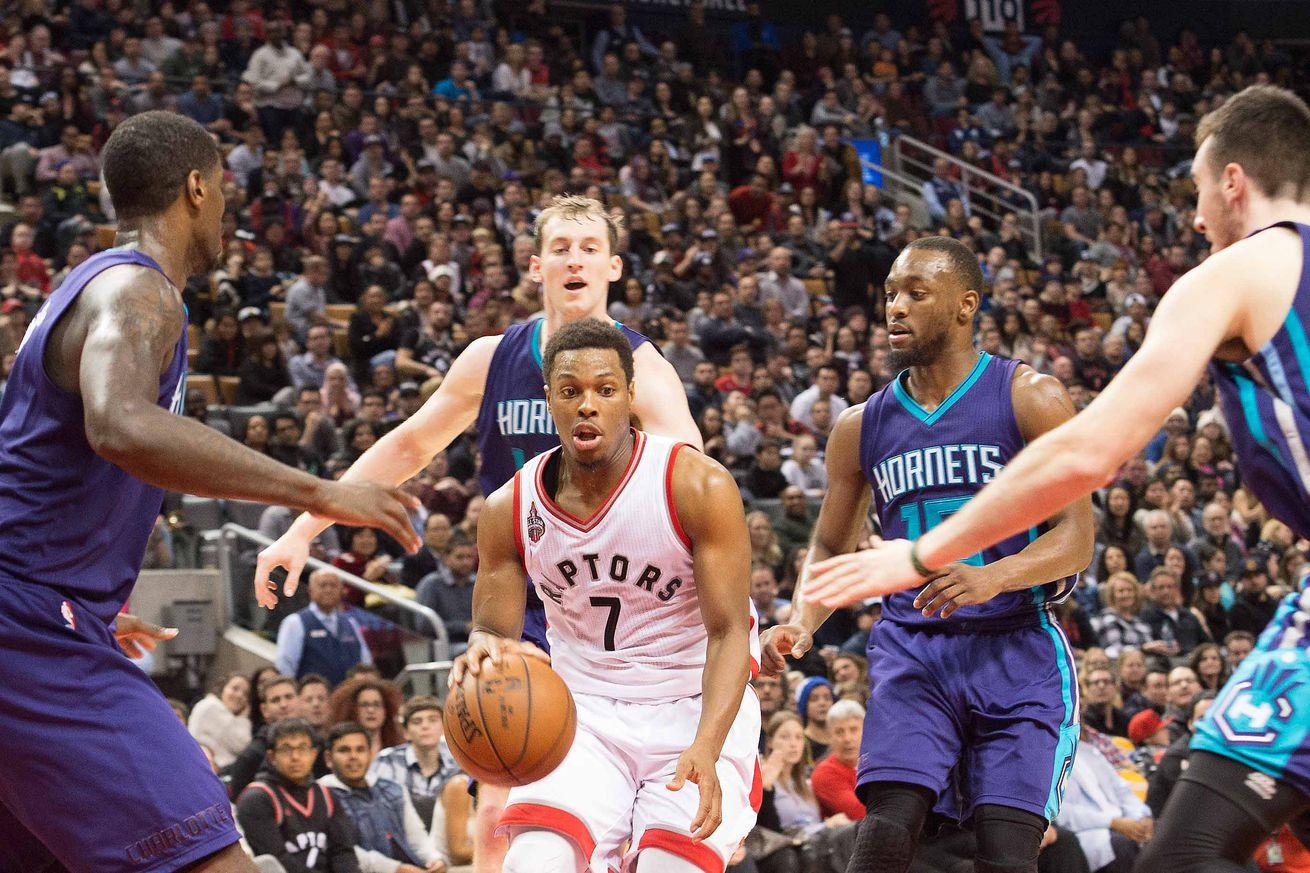 Hornets continue three-game road trip versus Raptors at Air Canada Centre
