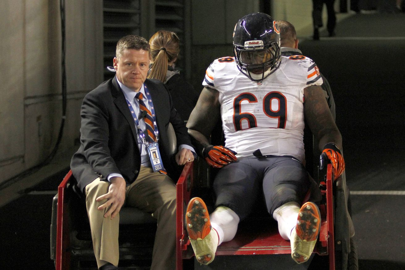 Nike authentic jerseys - Chicago Bears Injury Update: Henry Melton out for the year with a ...