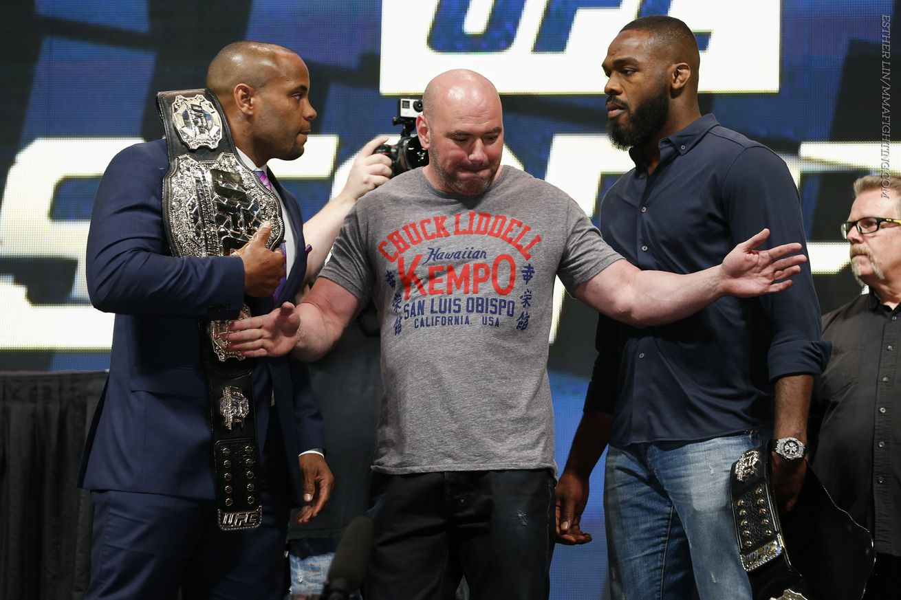 Jon Jones, Daniel Cormier trade shots on Twitter: 'Lets not forget me popping your cherry'