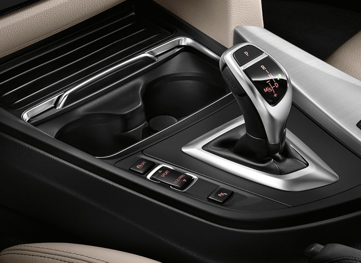 bmw's weird spaceship shifter