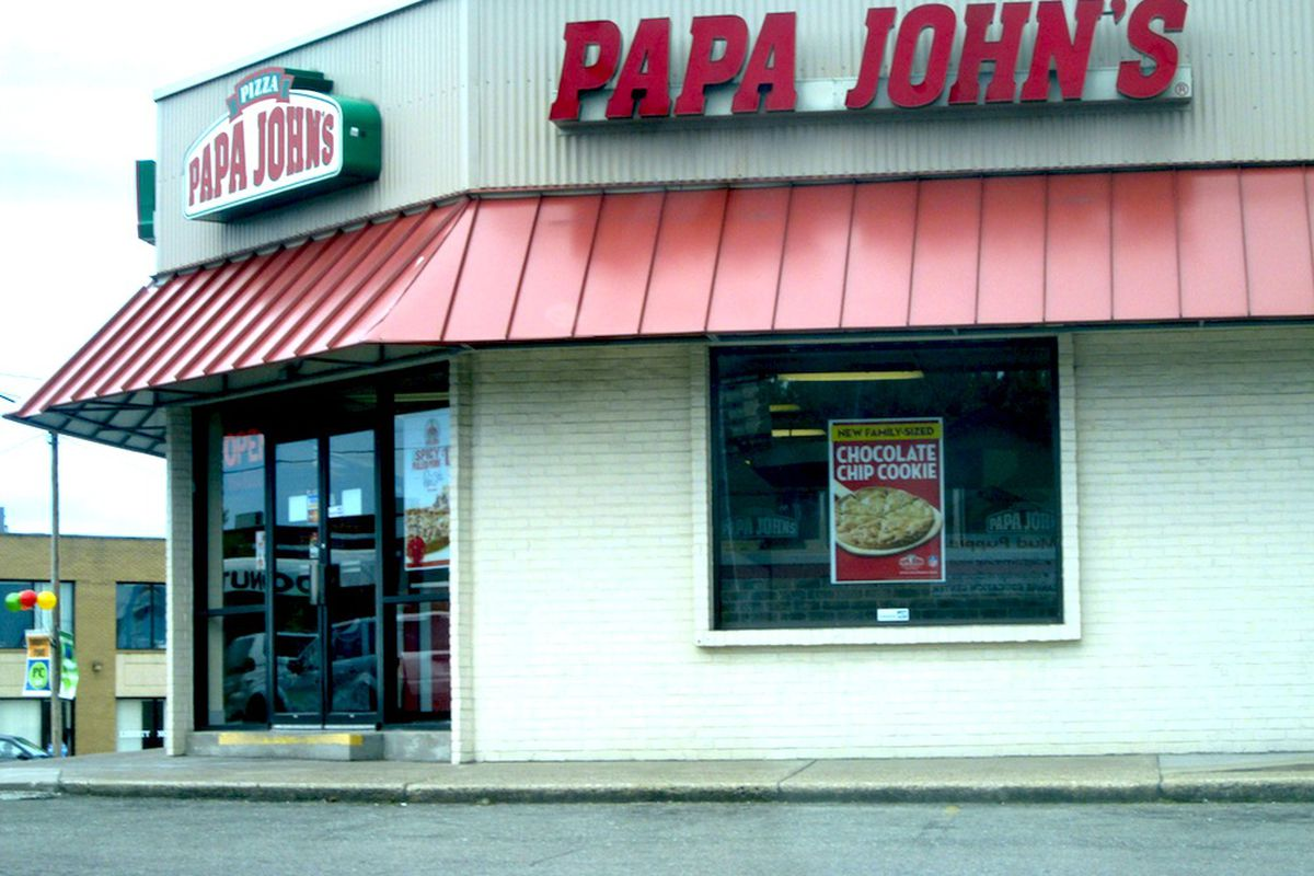 papa john s employee saves herself by shooting robber in the face random retail flickr a papa john s