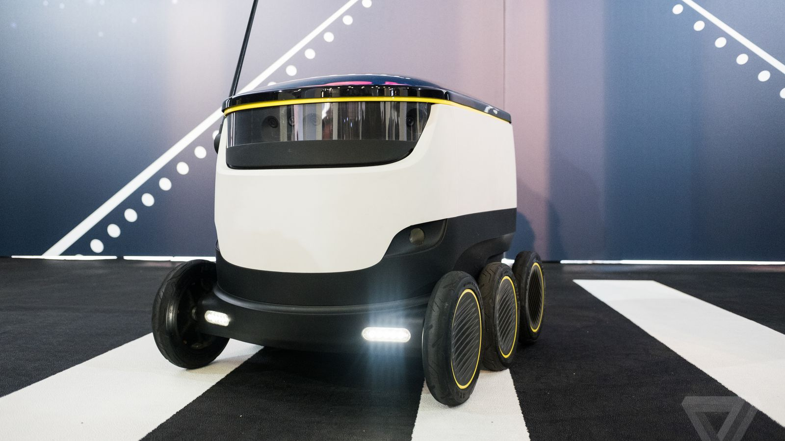 These six-wheeled robots are about to start delivering ...