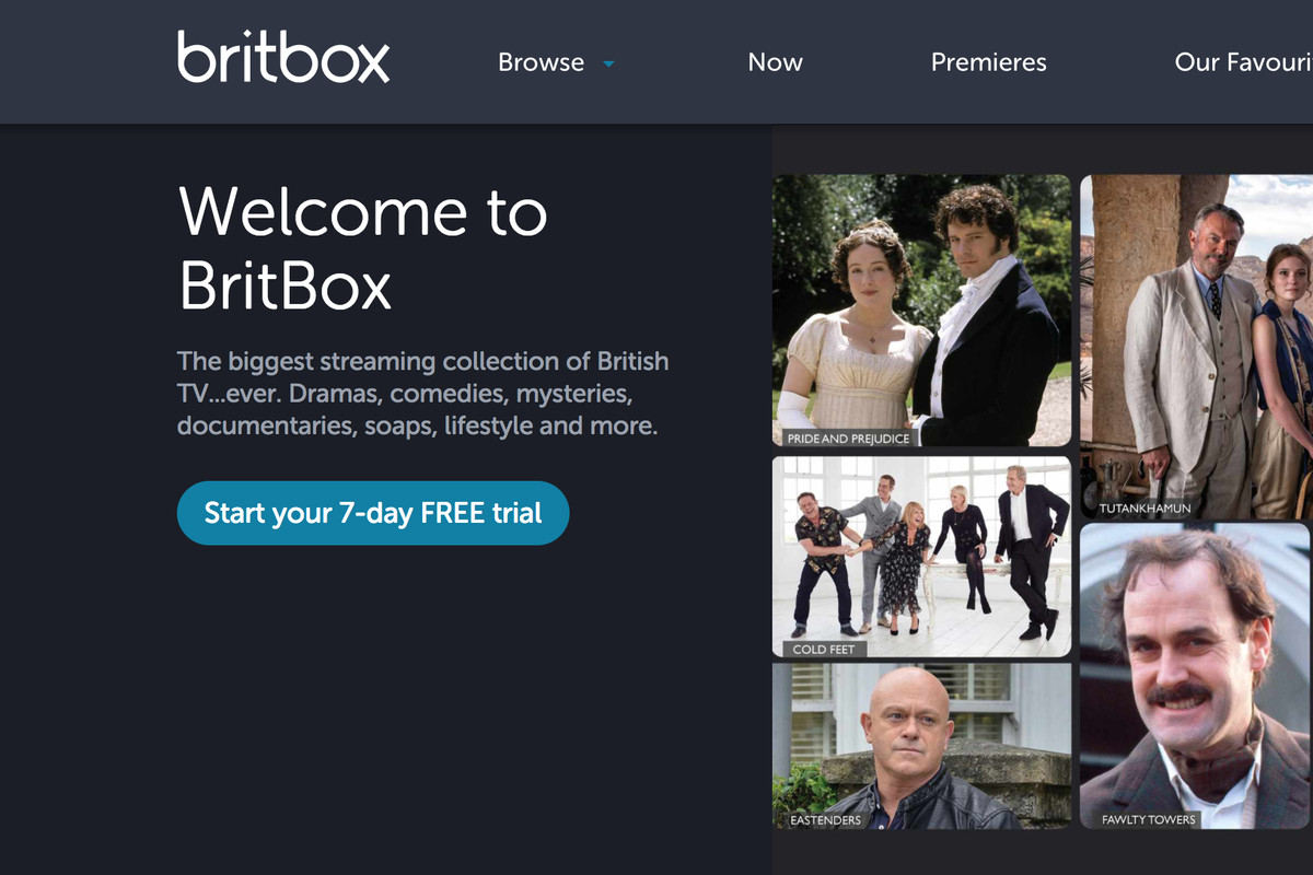 British TV streaming service BritBox is now live in the US
