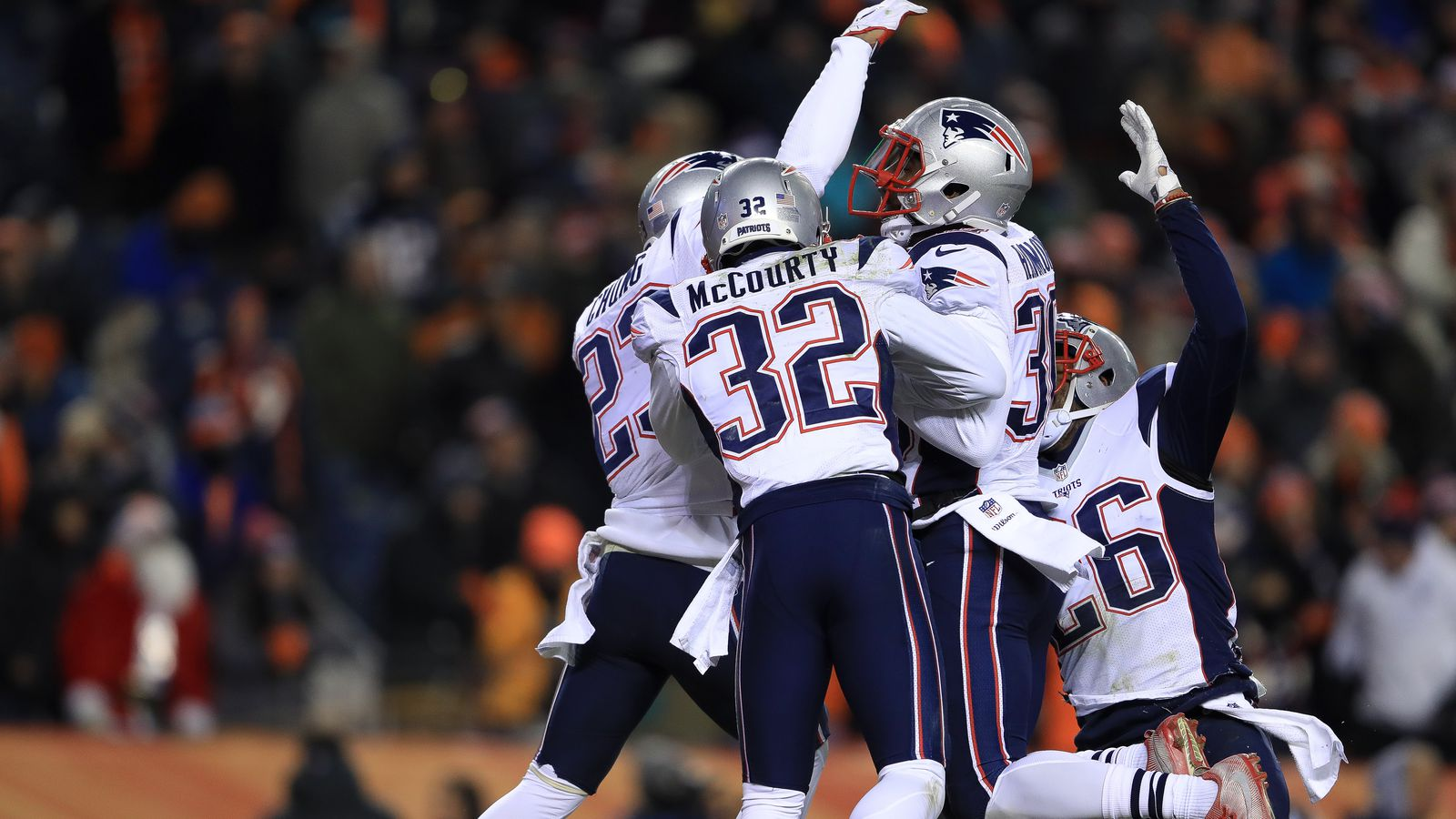 2017 Nfl Playoff Picture Patriots And Raiders Clinch