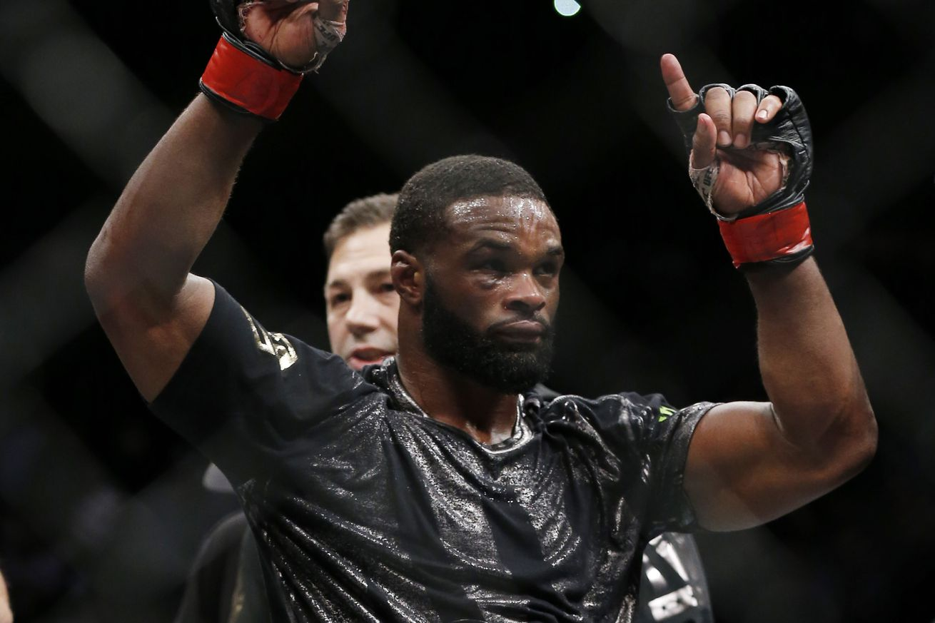 Video: Tyron Woodley says hes the greatest welterweight champion ever, better than Georges St Pierre