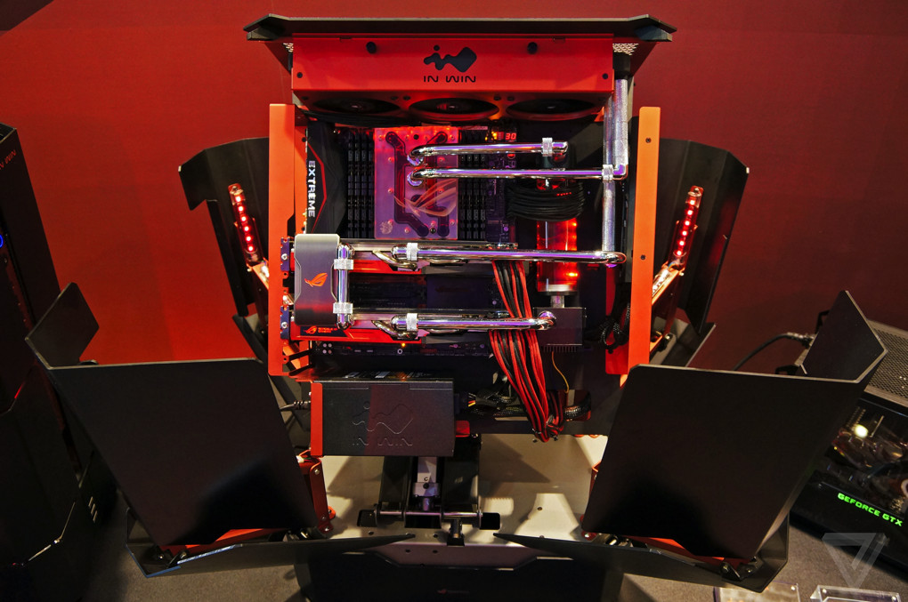 Spectacular Design Of Use Gaming Computer Desk : This is the sickest gaming PC case ever  The Verge